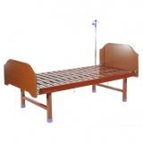 Кровать общебольничная E-18 (спинки ЛДСП)