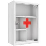 Аптечный шкаф (стекло)
