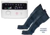 Аппарат для прессотерапии (лимфодренажа) LX7 + манжеты для ног (ХХL)