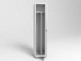 Шкаф металлический одностворчатый ШП-04