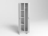 Шкаф для уборочного инвентаря (ширина 600)