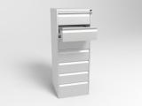 Шкаф металлический для картотеки ШК-7 (Формат А5)