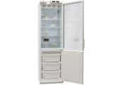 Холодильник лабораторный ХЛ-340 ПОЗИС с тонированной стеклянной дверью и металлической дверью