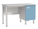 Стол лабораторный однотумбовый СЛ-04-МСК-105
