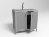 Лабораторный стол с мойкой СЛМ 2-01