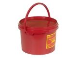 Контейнер одноразовый для сбора органических отходов МК-02 (3 литра) (класс В)