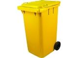 Контейнер многоразовый для отходов класса Б МК-4 (240 литров)