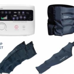 Аппарат для прессотерапии (лимфодренажа) LХ7 + пояс для похудения + манжета на руку + манжеты на ноги (XXL)