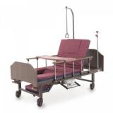 КроватьYG-5 с туалетным устройством, c функцией кардиокресло и переворачивания больного