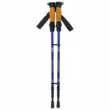 Палки для скандинавской ходьбы, телескопическая, 3 секции, до 135 см, (пара 2 шт), цвета МИКС